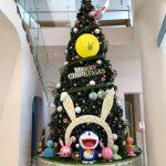 ドラえもんミュージアムのクリスマスツリー
