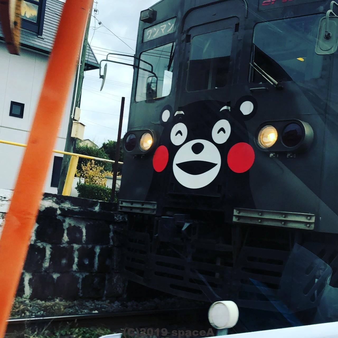 熊本電鉄のくまモン電車