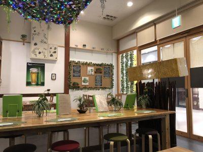 Green Caféの内装
