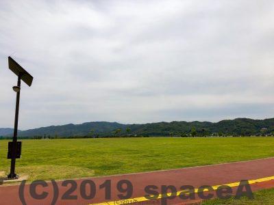 本渡港大矢崎緑地公園はとにかく広いです