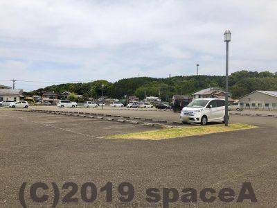 本渡港大矢崎緑地公園の駐車場