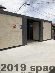 諏訪神社駐車場にあるトイレ