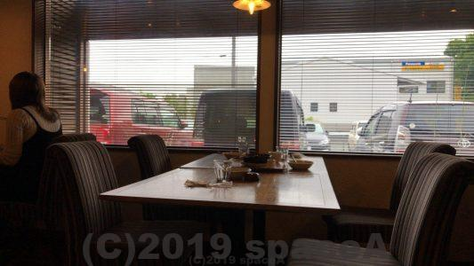 けやきカフェの景色