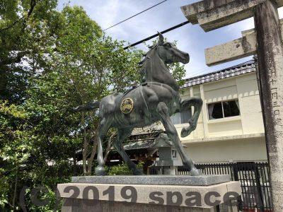 本渡諏訪神社の馬