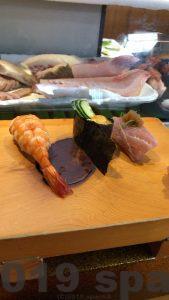 瓢六のお寿司のセット3