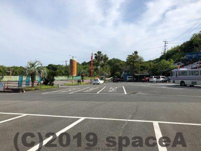 藍のあまくさ村の駐車場