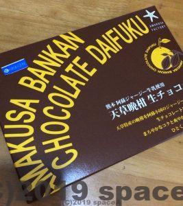 天草晩柑チョコレート大福