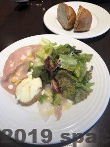 ロッカフォルテの前菜サラダ